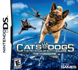 Cats Dogs The Revenge Of Kitty Galore Ds Game Nintendo Ds Ds