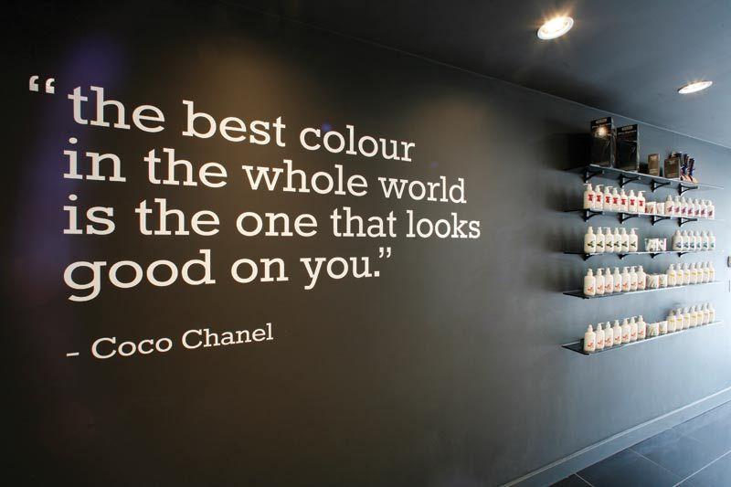 Quotes For Hair Spa: Nail Salon Decor, Home