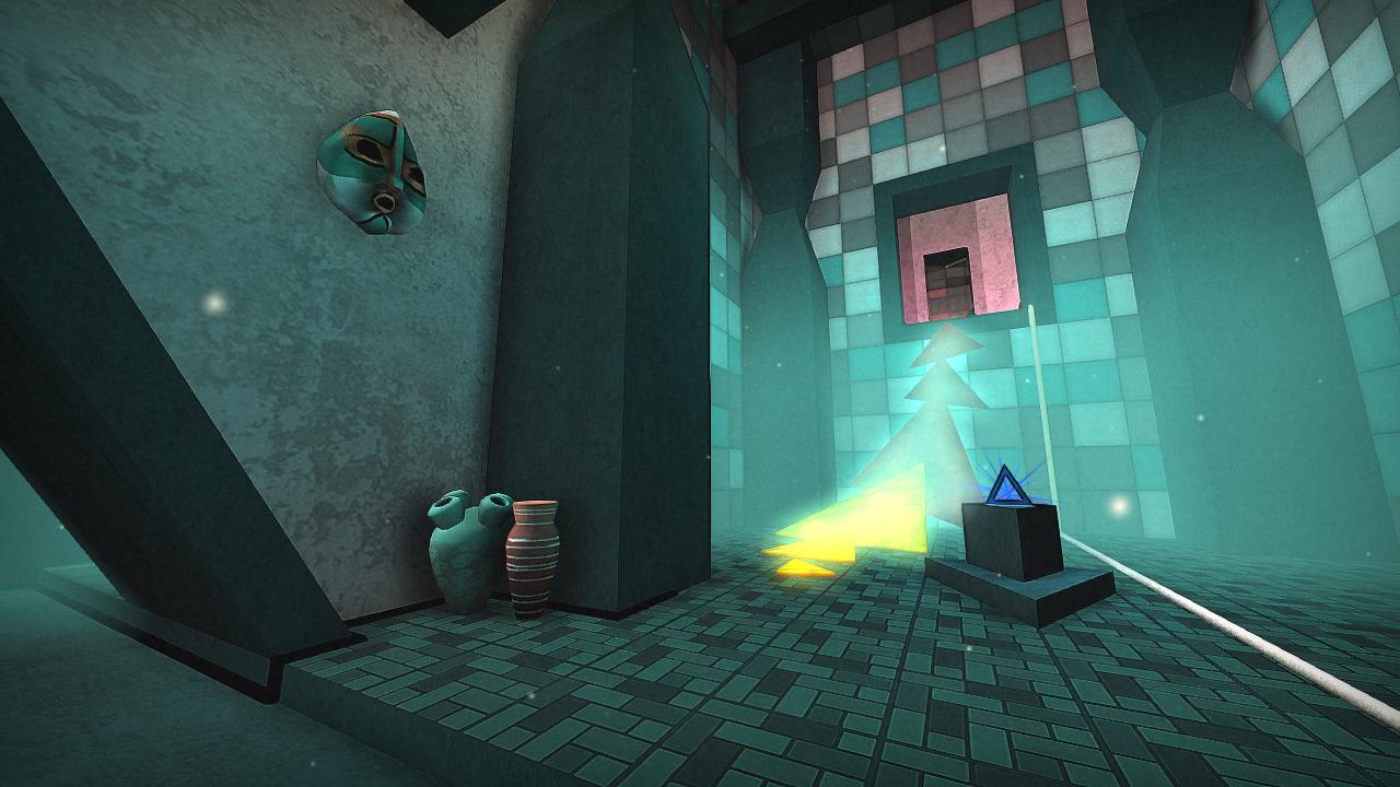 TRI (freestyle firstperson 3D puzzle exploration