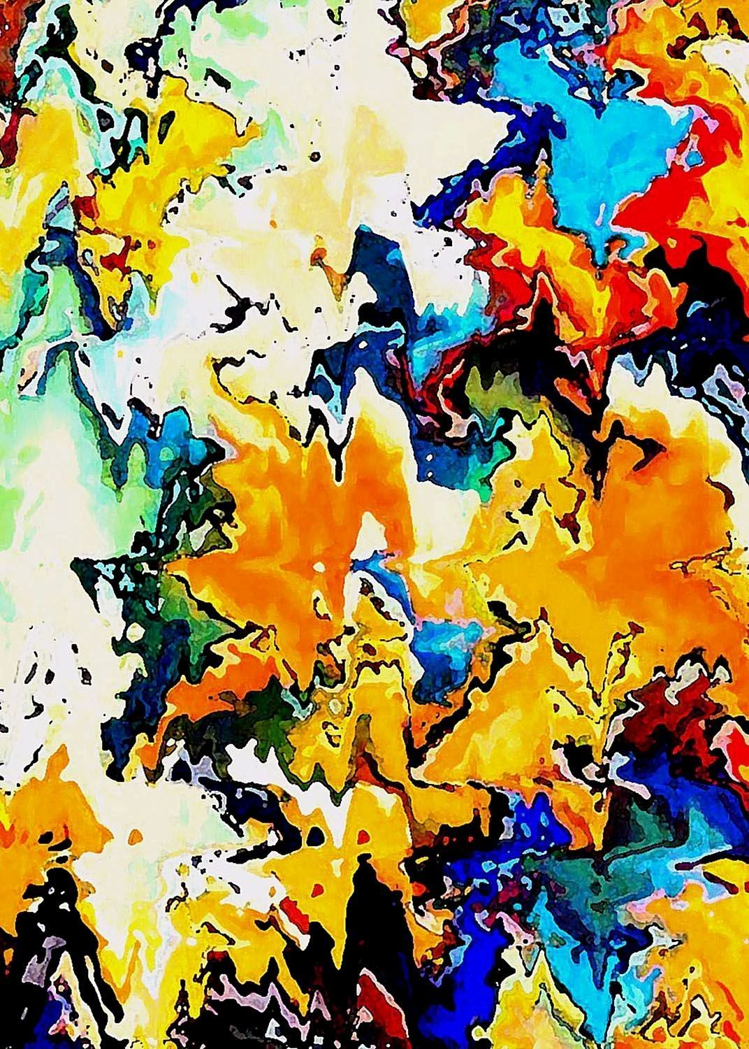 Abstractart colorful background abstract art design by sanae errabie also rh in pinterest