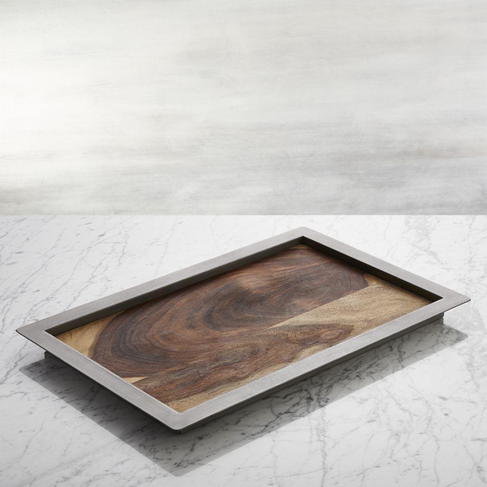 Wondrous Colin Tray Reviews Crate And Barrel Products Wood Inzonedesignstudio Interior Chair Design Inzonedesignstudiocom