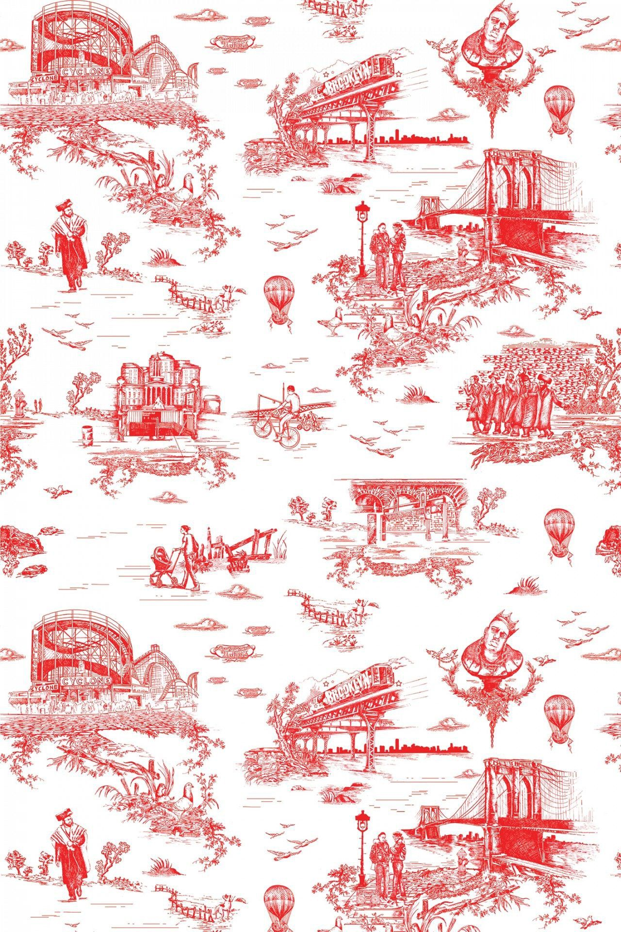 14 travel-themed wallpapers to ignite wanderlust | chinoiserie