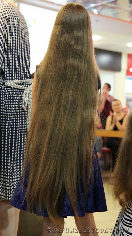 Rapunzels Today Longest Hair Dnepropetrovsk 2015 Long Brunette