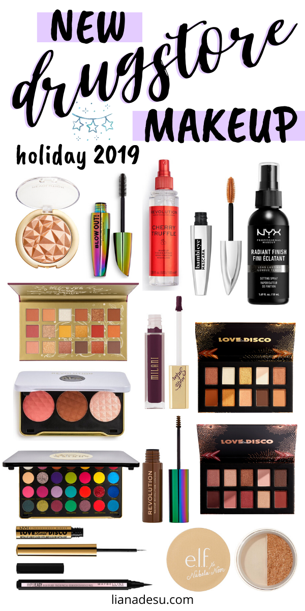 New Must Try Drugstore Makeup Winter Holiday 2019 Drugstore Makeup Drugstore Makeup Brands Best Drugstore Makeup