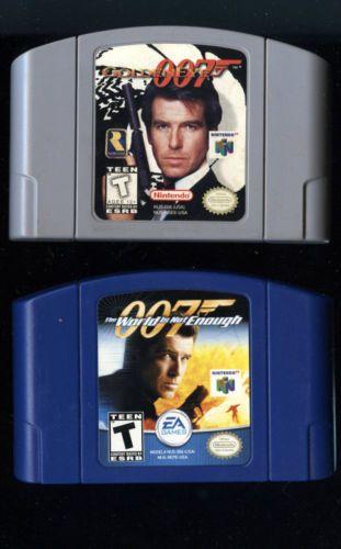 N64 Lot 007 Goldeneye 007 The World Is Not Enough Nintendo 64