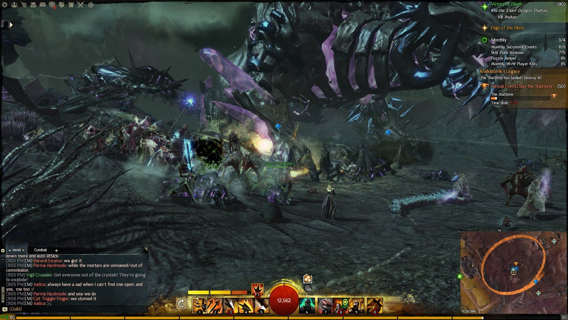 The Battle Of To Kill The Shatterer Guild Wars Guild Wars 2 Poster