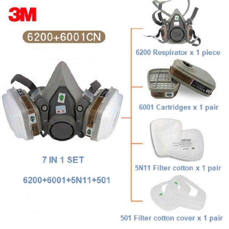 3m dual respirator mask