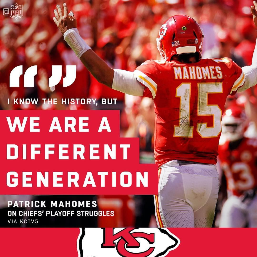 Nfl On Instagram The Patrickmahomes5 Era Is Just Different Charlie Riedel Ap Kansas City Nfl Kansas City Chiefs Football Kansas City Chiefs Logo