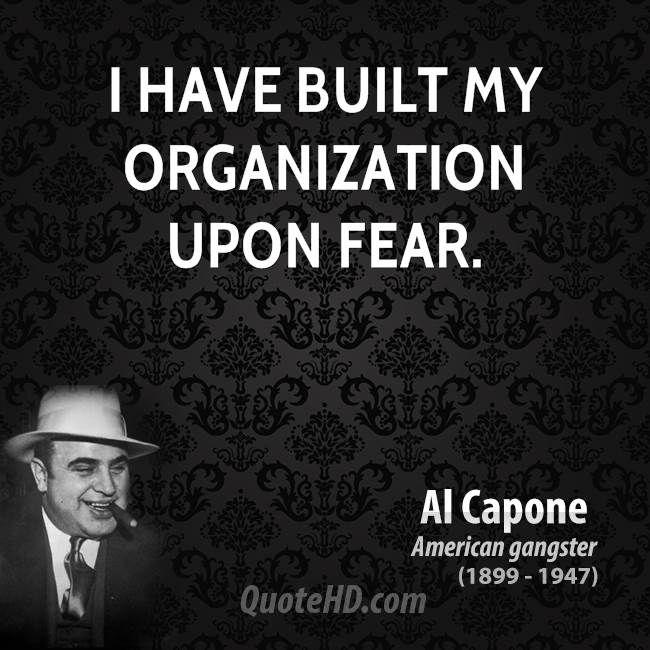 Tattoo Quotes Mafia: Al Capone Quotes