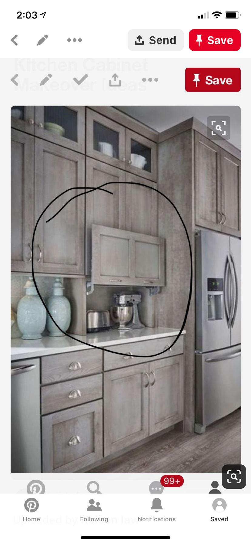 Hidden Storage Clean Countertops With Images Diy Kitchen Cabinets Kitchen Remodel Kitchen