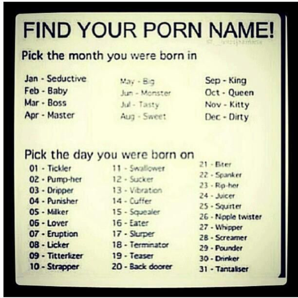 Italian Boy Name: Find Your Porn Name - Baby Juicer :-)