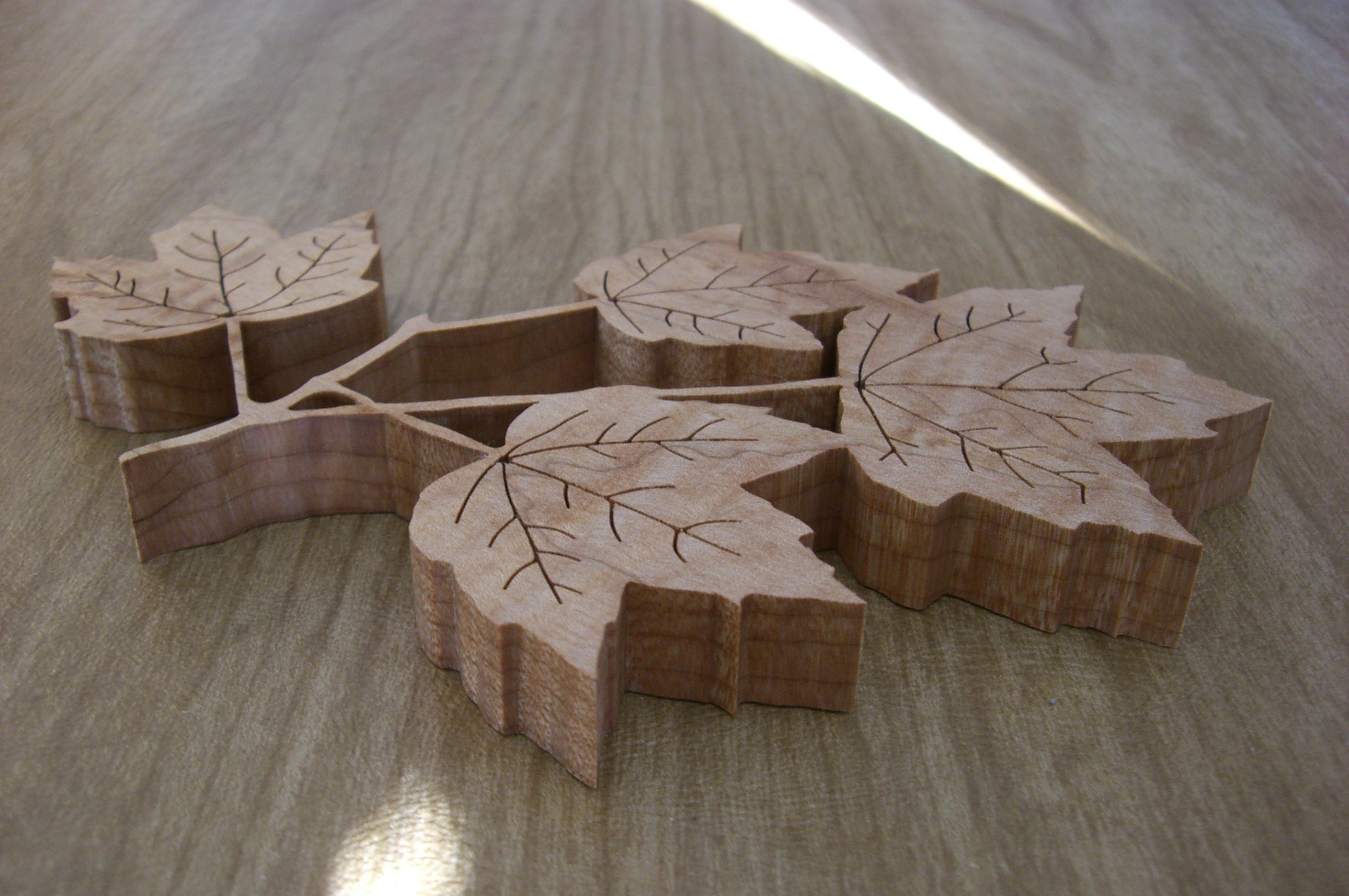 Maple leaves made from maple scroll saw scroll saw pinterest