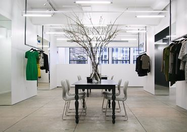 Jason Wu Office  Commercial   Contemporary  Eclectic  Industrial by Carrier and Company