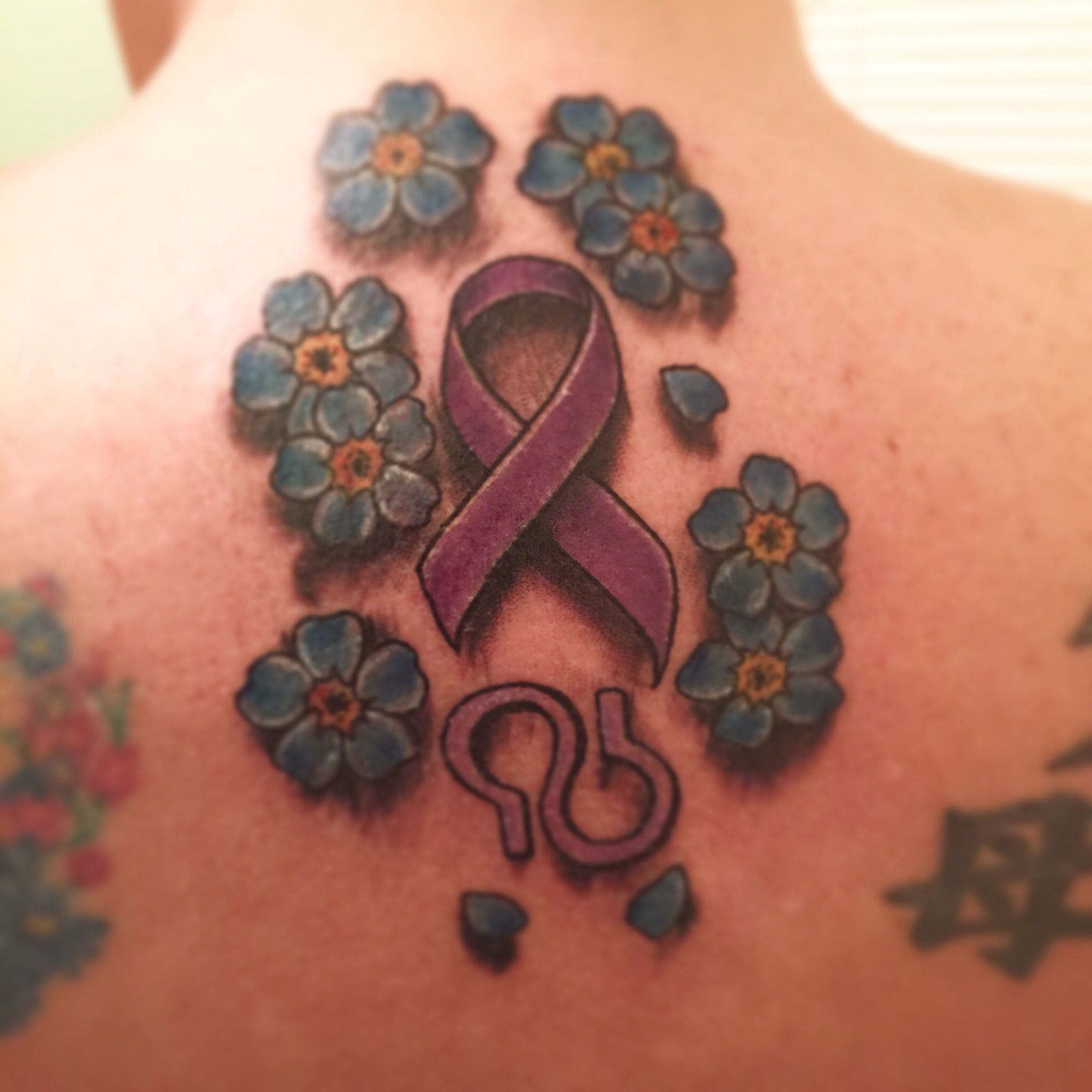 Purple ribbon for epilepsy lupus and alzheimers awareness symbol purple ribbon for epilepsy lupus and alzheimers awareness symbol is alzheimers symbol and forget me biocorpaavc Image collections
