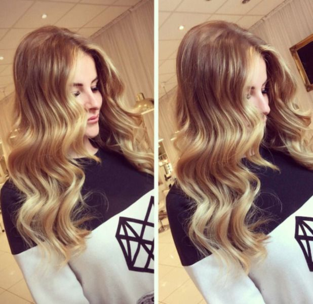 Towie Star Georgia Kousoulou Shows Off Her New Hair Extensions