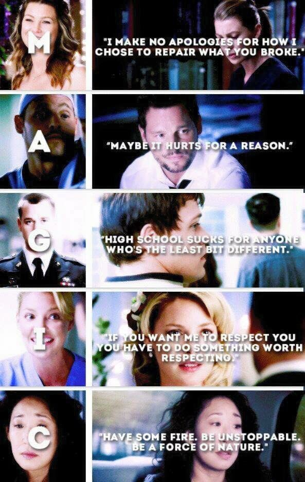 Grey\'s anatomy | Grey\'s anatomy Addiction | Pinterest | Anatomía de ...
