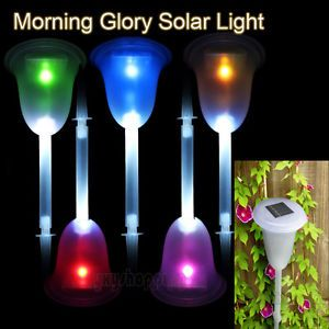 led eclairage lampe changer de couleur exterieur solaire lumiere jardin d co ebay luminaire. Black Bedroom Furniture Sets. Home Design Ideas