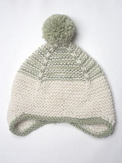 e6e96b6b8af capovak s Ravelry project  Garter Ear Flap Hat by Purl Soho. Made from  Drops Lima   Nepal.