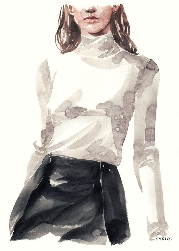 Photo of Fashion illustrations series