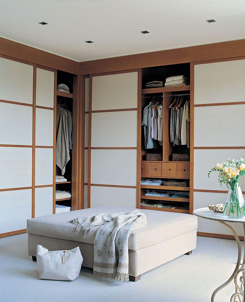 Vestidor Con Armarios Puertas Correderas 00123007 Closet  ~ Puertas Correderas Para Vestidores