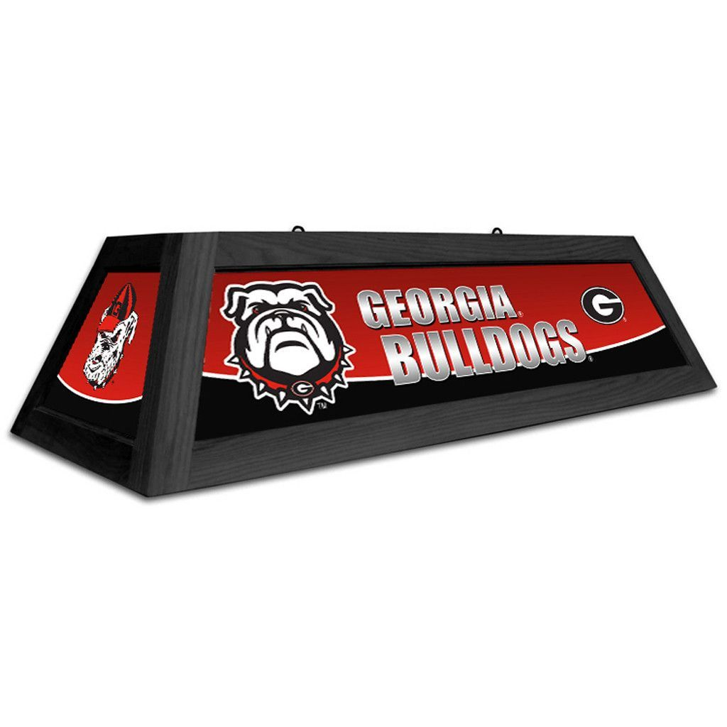 Table english pub table antique periodic table product on alibaba com - Georgia Bulldogs 42 Spirit Pool Table Light
