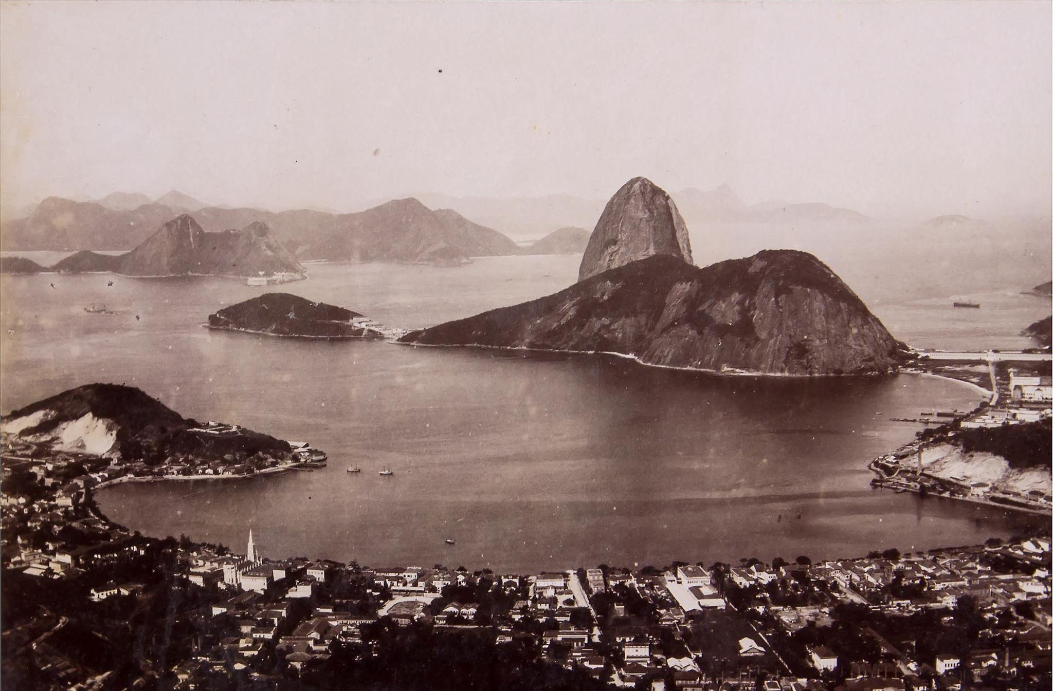 Rio de Janeiro, Brasil, photographed by Marc Ferrez, circa 1880.