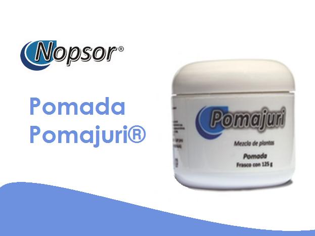 Pomada Pomajuri Auxiliar En El Control De Psoriasis Nopsor