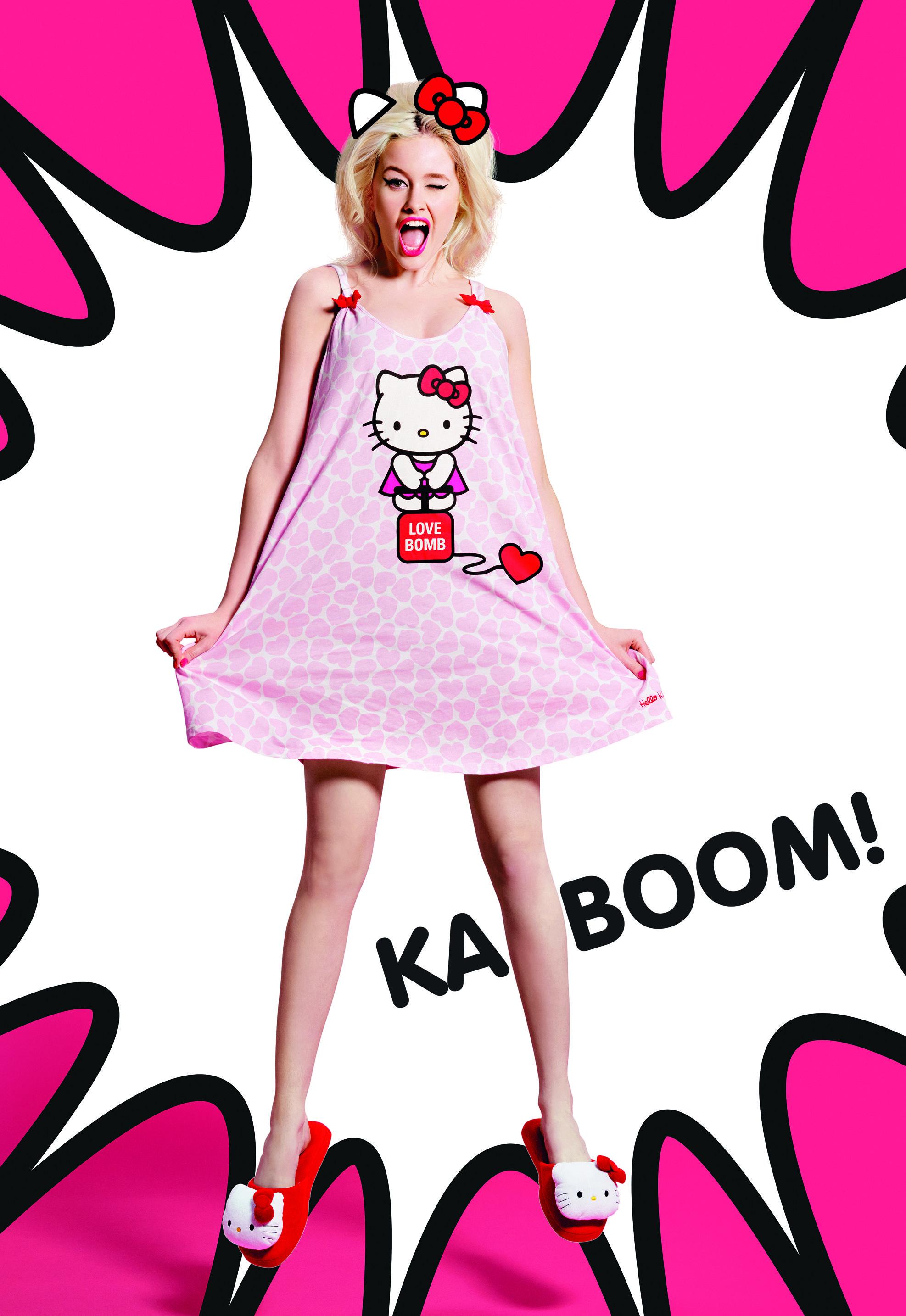 Kitty Love Bomb Nightie