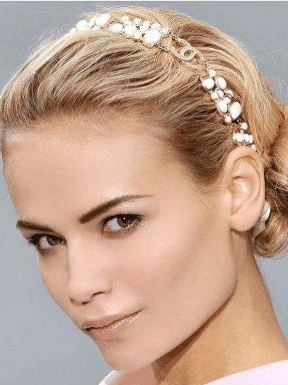 Cerchietto per capelli (con immagini)   Capelli, Bellezza ...