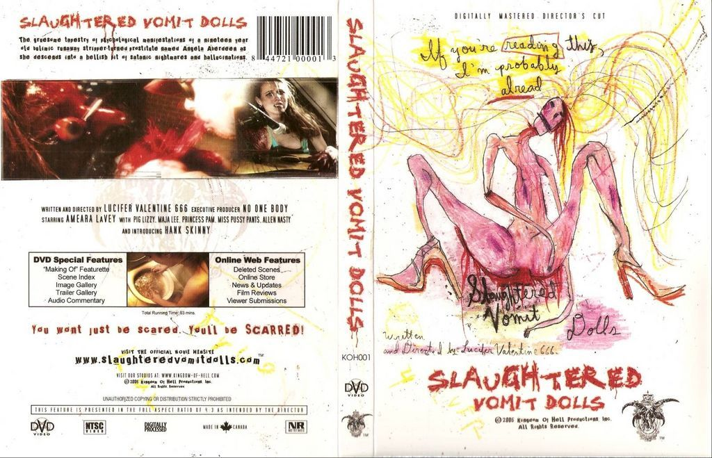 Slaughtered Vomit Dolls movie | Horror monsters, Magical girl, Vomit