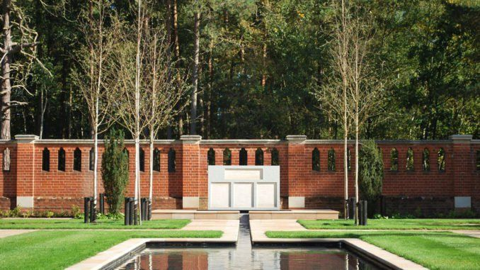 Muslim Burial Ground Peace Garden At Horsell Common By Terra Firma Consultancy Landscape Design Uk Muslim B Landscape Design Landscape Architecture Garden