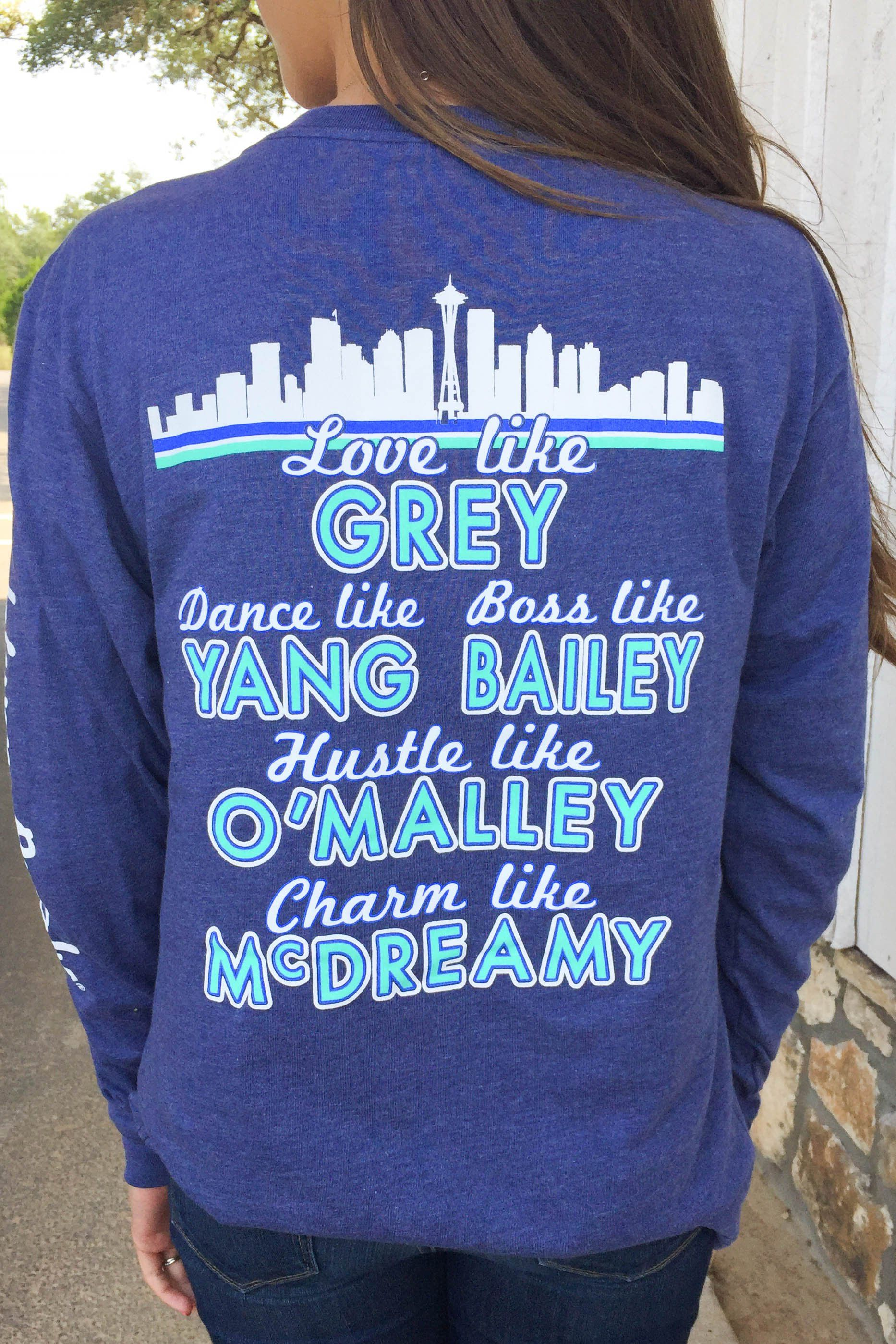 You Are My Person (Heather Navy) - Long Sleeve   Greys Anatomy <3 ...