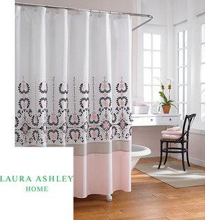 Laura Ashley Yardley 72 Inch Shower Curtain