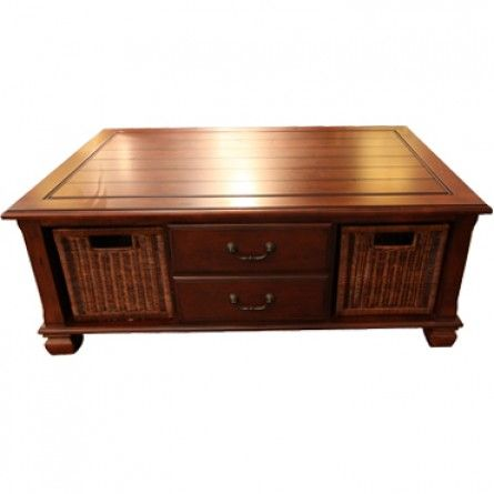 Galleryfurniture.com: LANE SURREY RECTANGULAR COFFEE TABLE