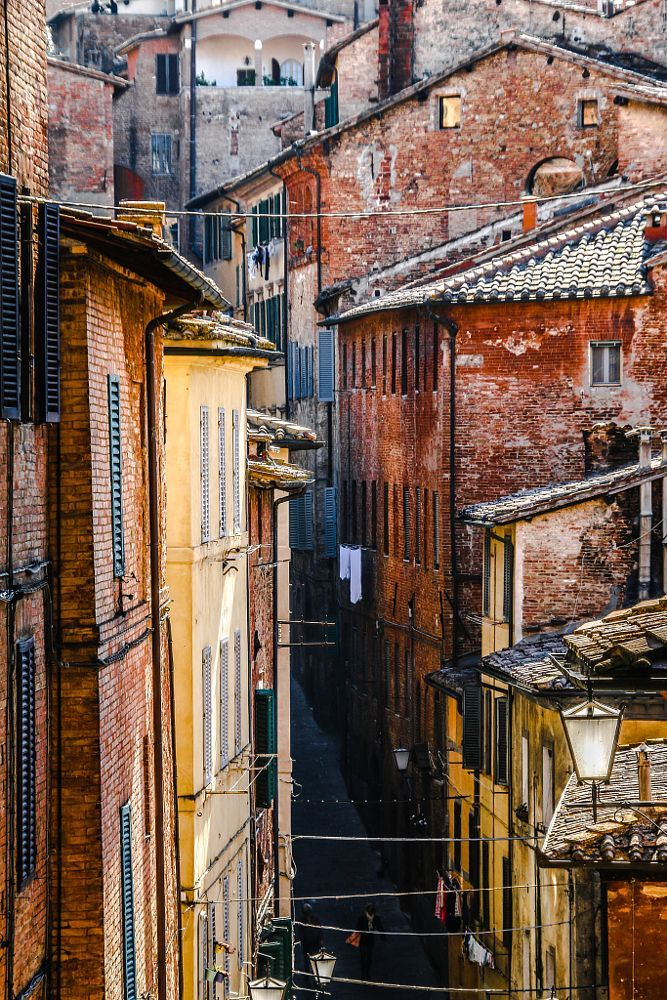Italian Florence: Streets Of Siena …