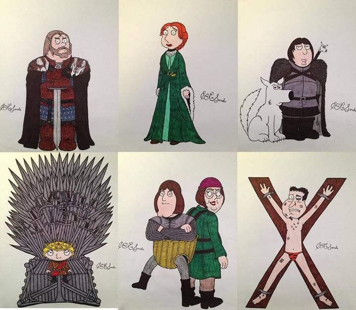 Game of Thrones, Family Guy style