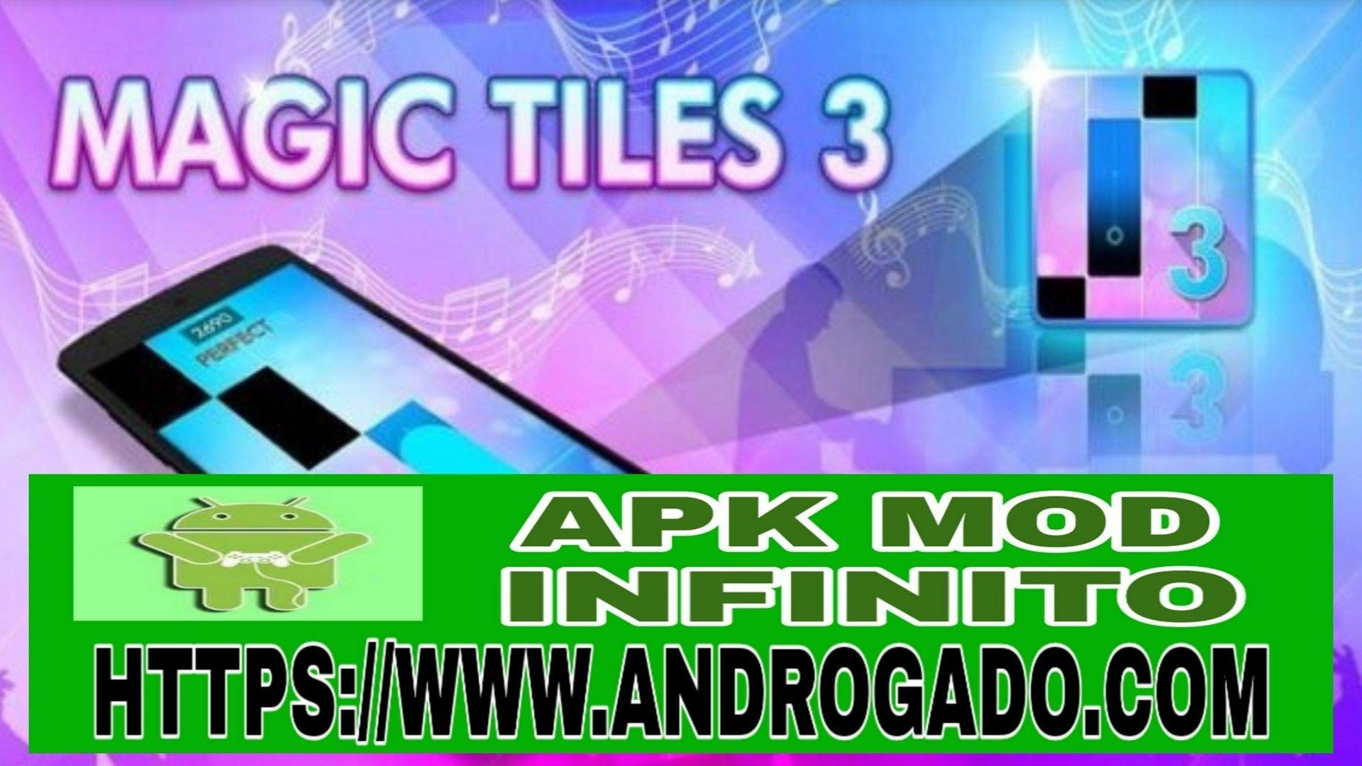 Magic Tiles 3 V7 032 005 Apk Mod Dinheiro Infinito Jogo De