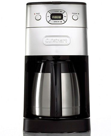 Cuisinart Grindandbrew Thermal 10cup Automatic Coffeemaker Grinds Coffee Beans Fresh For Brewing Features A 1 Coffee Maker With Grinder Coffee Maker Coffee Urn