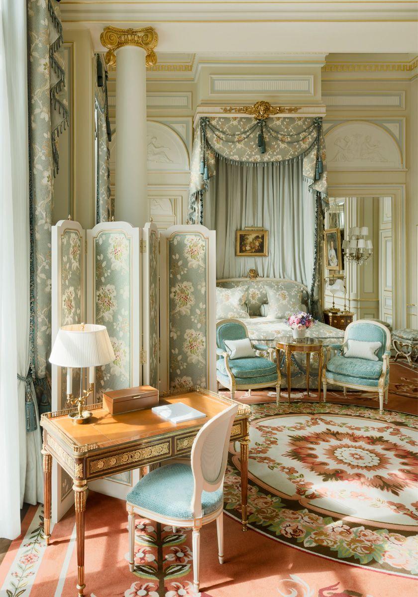 Ritz Paris Hotel De Luxe 5 Etoiles Place Vendome Reservation Chambre Design Interieur Du Palais Deco Maison