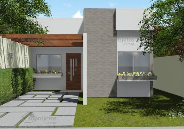 Casa moderna de dos dormitorios y 72 metros cuadrados for Planos y disenos de casas gratis