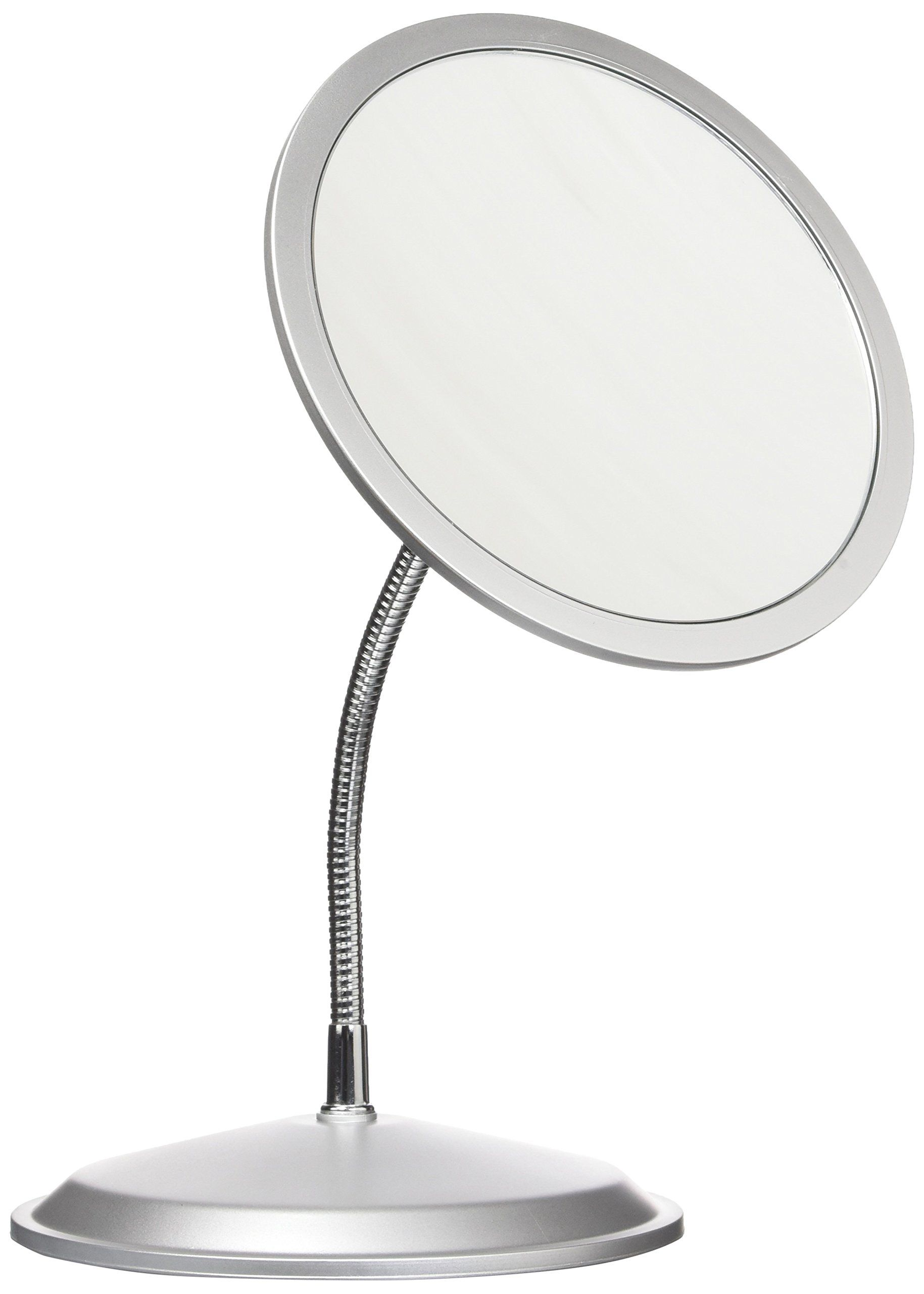 ALHAKIN Wall Mounted Makeup Mirror 10x Magnification 8