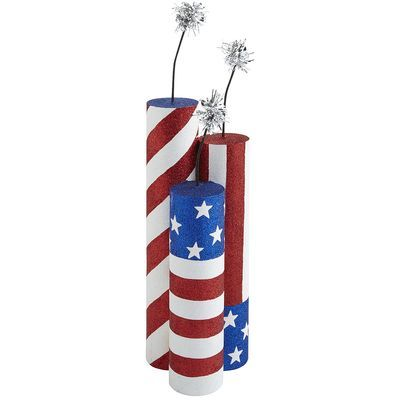 4th Of July Cardboard Tube Crafts Paper Towel Crafts American Flag Crafts Cardboard Tube Crafts