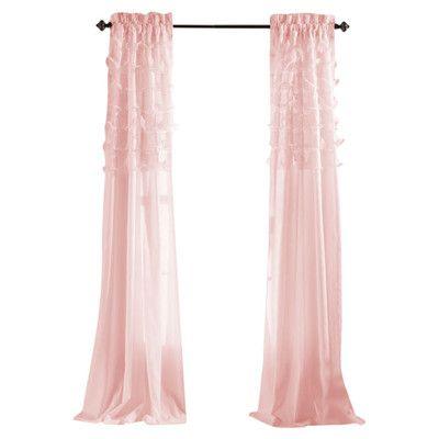 Lush Decor Avery Curtain Panel | Wayfair