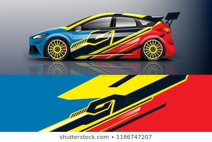 Car Decal Graphic Vector Racing Abstract Stripe Designs For
