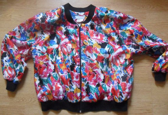 Silk Floral Painting Absract Reflective Print by RetroFreshTees, $45.00