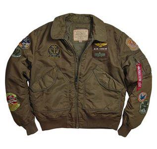 f2eb05942 Alpha CWU Brown Pilot Jacket - Wholesale | Alpha Industries Jackets ...