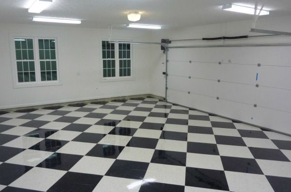 How to Apply Epoxy over Vinyl Composite Tile for the Garage | All Garage Floors