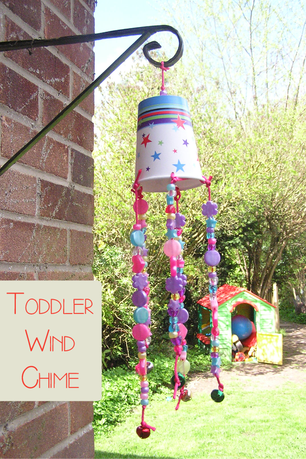 How cute and fun would this be to make with your kids  Simple Toddler craft  to make a garden wind chime from a drinks cup and craft cupboard supplies Wind Chime to make with Toddlers   Kids Arts   Crafts   Pinterest  . Arts And Crafts To Do At Home With Toddlers. Home Design Ideas