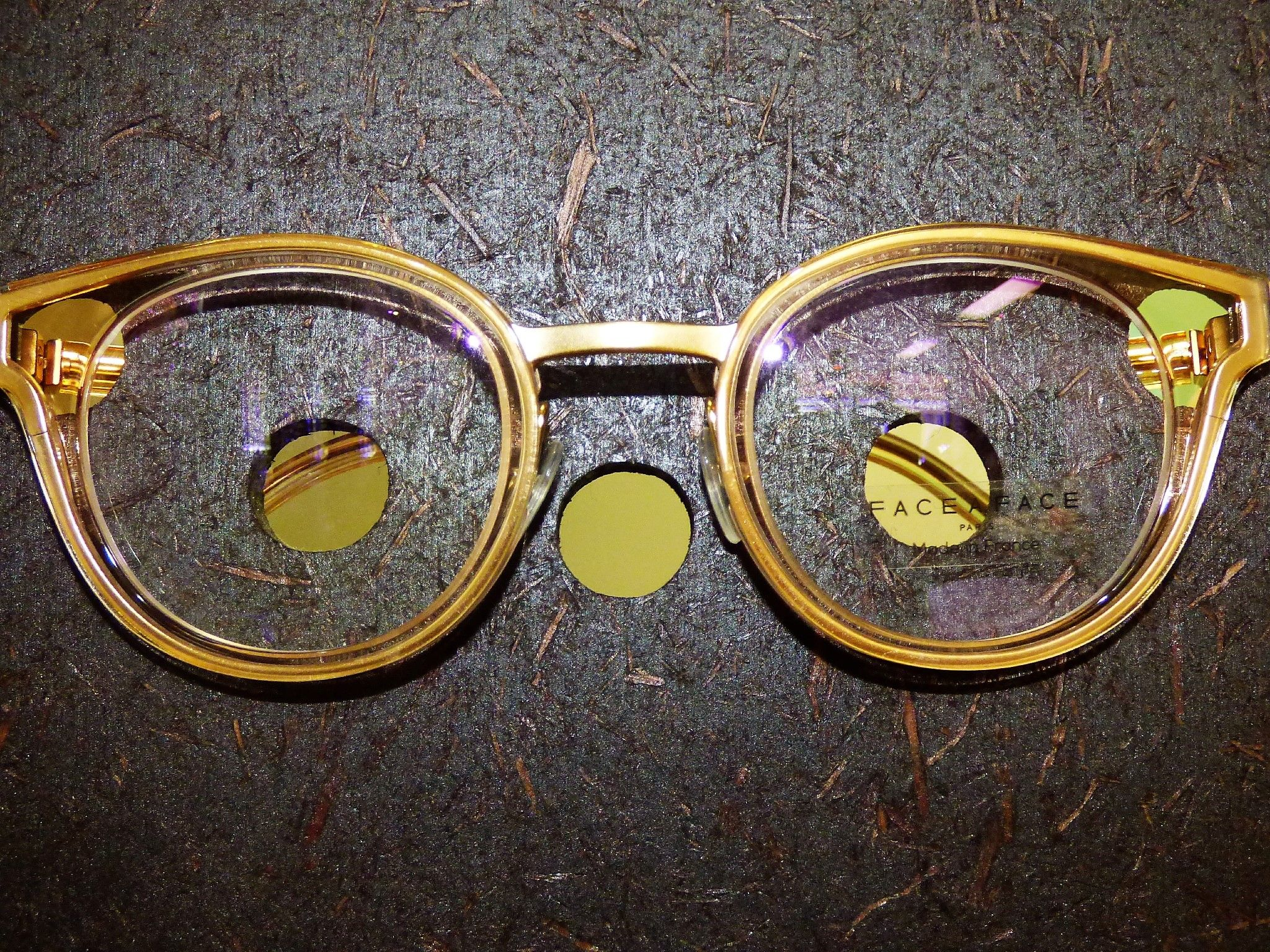 They may not improve your IQ, but you will look bookishly intelligent and seriously stylish in these 'Face a Face' frames.