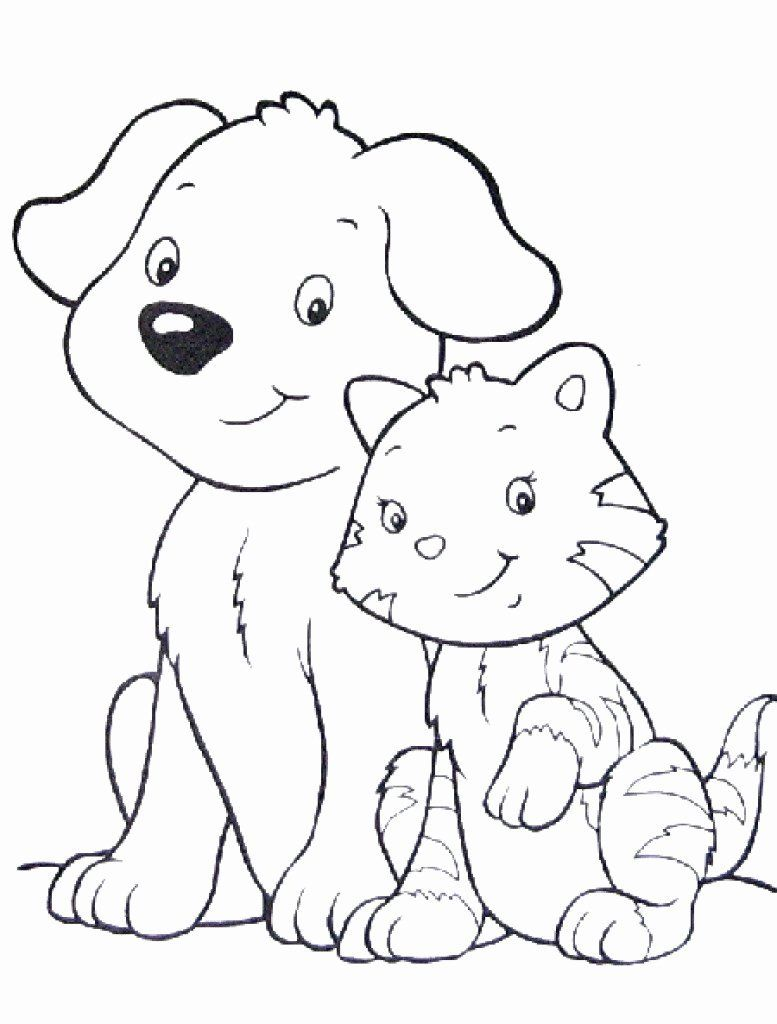 Cartoon Coloring Cat Best Of Cat Coloring Pages Cute Best Cute Cat Coloring Pages Dog Coloring Page Cat Coloring Page Animal Coloring Pages